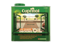 Cuprinol UV Guard Decking Oil Natural Cedar 2.5 Litre