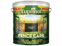 Cuprinol Less Mess Fence Care Woodland Green 6 Litre