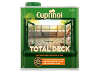 Cuprinol Total Deck Restore & Oil Wood Clear 2.5 Litre