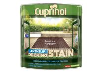 Cuprinol Anti Slip Decking Stain American Mahogany 2.5 Litre