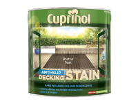 Cuprinol Anti Slip Decking Stain Boston Teak 2.5 Litre