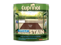Cuprinol Anti Slip Decking Stain Cedar Fall 2.5 Litre