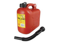 Silverhook Leaded Petrol Can & Spout Red 5 Litre