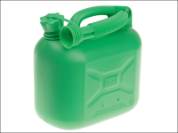 Silverhook Unleaded Petrol Can & Spout Green 5 Litre