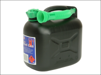 Silverhook Diesel Fuel Can & Spout Black 5 Litre