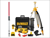 DEWALT DW079PKH Self Levelling Rotary Laser Level Kit