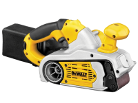 DEWALT DW433 75 x 533mm Electronic Belt Sander 800 Watt 230 Volt 230V