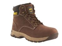 DEWALT Carbon Safety Brown Nubuck Hiker Boots UK 7 Euro 41