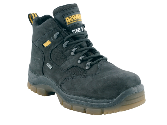 DEWALT Challenger Gore-Tex Lined Waterproof Hiker Boots Black UK 10 Euro 44