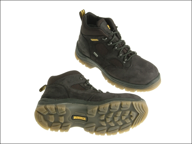DEWALT Challenger Gore-Tex Lined Waterproof Hiker Boots Black UK 8 Euro 42