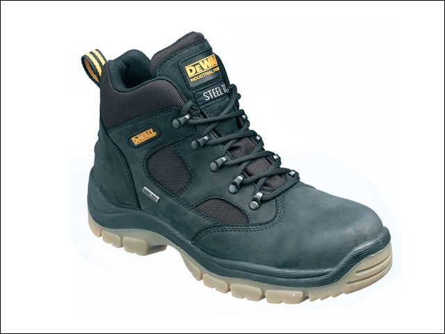 DEWALT Challenger Gore-Tex Lined Waterproof Hiker Boots Black UK 9 Euro 43