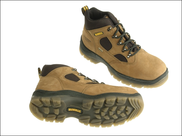 DEWALT Challenger Gore-Tex Lined Waterproof Hiker Boots Brown UK 12 Euro 47