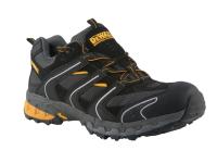 DEWALT Cutter Lightweight Safety Trainers Black UK 12 Euro 47