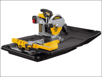 DEWALT D24000 Wet Tile Saw with Slide Table 1600 Watt 240 Volt 240V