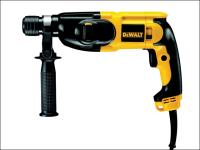 DEWALT D25013K SDS Plus 3 Mode Combi Hammer Drill & Case 650 Watt 240 Volt 240V