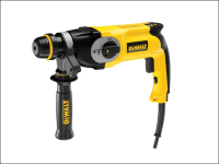 DEWALT D25124K 26mm QCC Heavy-Duty Combi Hammer Drill 800 Watt 240 Volt 240V