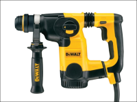 DEWALT D25323K L Shape SDS Plus 3 Mode Low Vibration Hammer 800 Watt 240 Volt 240V