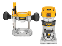 DEWALT D26204K 1/4in Premium Plunge & Fixed Base Combi Router 900 Watt 230 Volt 230V
