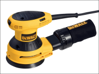 DEWALT D26453 125mm Random Orbit Palm Sander 280 Watt 230 Volt 230V