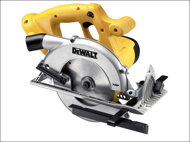 DEWALT DC390N 165mm Trim Saw 18 Volt Bare Unit 18V