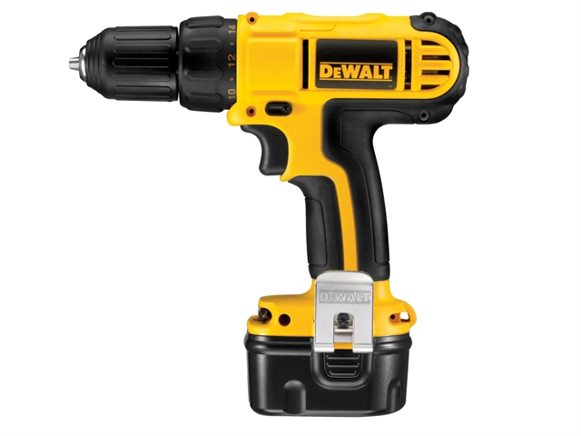 DEWALT DC740KA Drill Driver 12 Volt 2 x 1.3Ah NiCd 12V