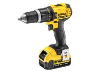 DEWALT DCD785M2 XR Compact Hammer Drill Driver 18 Volt 2 x 4.0Ah Li-Ion 18V