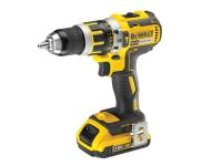 DEWALT DCD795D2 Compact Brushless Hammer Drill Driver 18 Volt 2 x 2.0Ah Li-Ion 18V