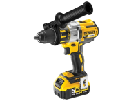 DEWALT DCD995P2 XR 3 Speed Brushless Hammer Drill Driver 18 Volt 2 x 5.0Ah Li-Ion 18V