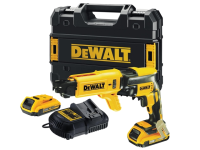 DEWALT DCF620D2K Brushless Collated Drywall Screwdriver 18 Volt 2 x 2.0Ah Li-Ion 18V