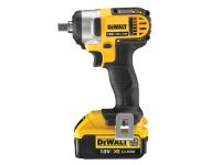 DEWALT DCF880M2 XR Compact Impact Wrench 18 Volt 2 x 4.0Ah Li-Ion 18V