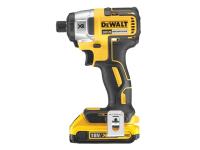 DEWALT DCF886D2 XR Brushless Impact Driver 18 Volt 2 x 2.0Ah Li-Ion 18V