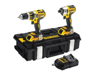 DEWALT DCK250D2 XR Brushless Twin Pack 18 Volt 2 x 2.0Ah Li-Ion 18V