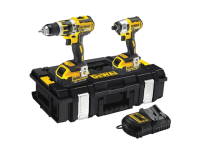 DEWALT DCK250P2 Brushless Twin Pack 18 Volt 2 x 5.0Ah Li-Ion 18V
