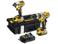 DEWALT DCK255P2 Brushless Twin Pack 18 Volt 2 x 5.0Ah Li-Ion 18V