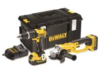 DEWALT DCK286 M2 Twin Pack 18 Volt 2 x 4.0Ah Li-Ion 18V