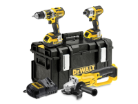 DEWALT DCK382M2 Brushless 3 Piece Kit 18 Volt 2 x 4.0Ah Li-Ion 18V