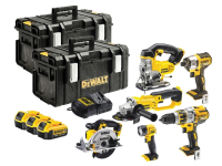 DEWALT DCK694M3 Brushless 6 Piece Kit 18 Volt 3 x 4.0Ah Li-Ion 18V