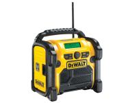 DEWALT DCR020 DAB Digital Radio 240 Volt & Li-Ion + 1 x 2.0Ah Li-Ion