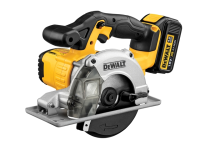 DEWALT DCS373M2 140mm XR Circular Saw Metal Cutting 18 Volt 2 x 4.0Ah Li-Ion 18V