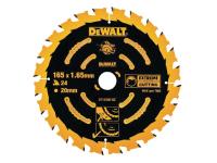 DEWALT Circular Saw Blade 165 x 20mm x 40T Corded Extreme Framing