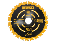 DEWALT Circular Saw Blade 190 x 30mm x 24T Corded Extreme Framing