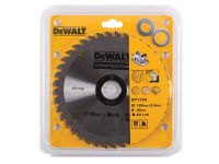 DEWALT Series 30 Construction Circular Saw Blade 190 x 30mm x 40 Tooth