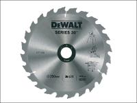 DEWALT Circular Saw Blade 250 x 30mm x 24T Series 30 Fast Rip