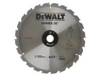 DEWALT Circular Saw Blade 305 x 30mm x 24T Series 30 Fast Rip