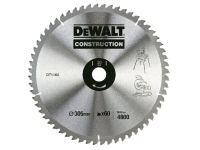 DEWALT Construction Circular Saw Blade 305 x 30mm 60T