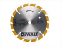 DEWALT Trim Saw Blade 136 x 10mm x 16T Fast Rip