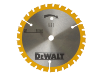 DEWALT Trimsaw Blades 136 x 10mm x 24T Fine Finish Wood Cut