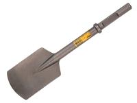 DEWALT 28mm Steel Clay Spade 30kg 140mm x 540mm