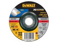 DEWALT FlexVolt Xtreme Runtime Metal Grinding Disc 125mm x 6mm
