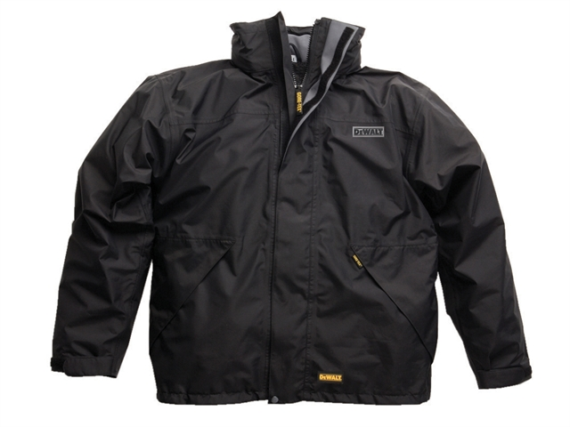 DEWALT DWC1001 Black Site Jacket - L (46in)